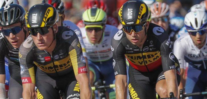 "Wout van Aert na derde ritzege: ""Klasse lead-out van Mike Teunissen, petje af"""