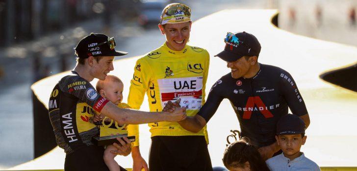"""Jonas Vingegaard besluit Tourdebuut op eindpodium: """"Een droom die uitkomt"""""""