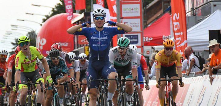 Fabio Jakobsen sluit Tour de Wallonie af met tweede ritzege, Quinn Simmons is eindwinnaar