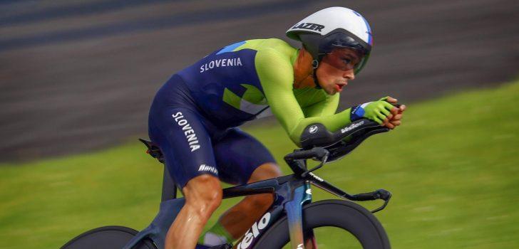 Olympische Spelen: Goud Primoz Roglic na sensationele tijdrit, geen medaille Wout van Aert