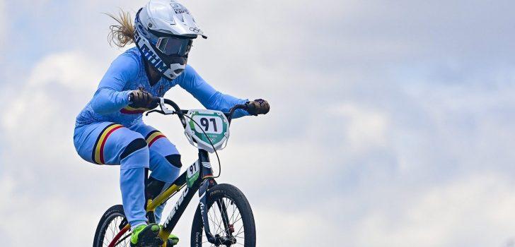 Olympische Spelen: Elke Vanhoof naar halve finales BMX