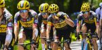 'Jumbo-Visma mist de oranje juichcape tijdens deze Tour de France'