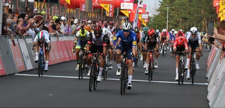 Fabio Jakobsen wint in Tour de Wallonie voor het eerst sinds ongeval
