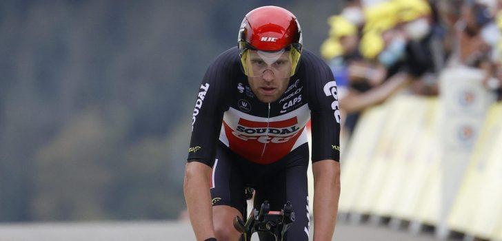 Vuelta 2021: Frederik Frison stapt af met hoge koorts
