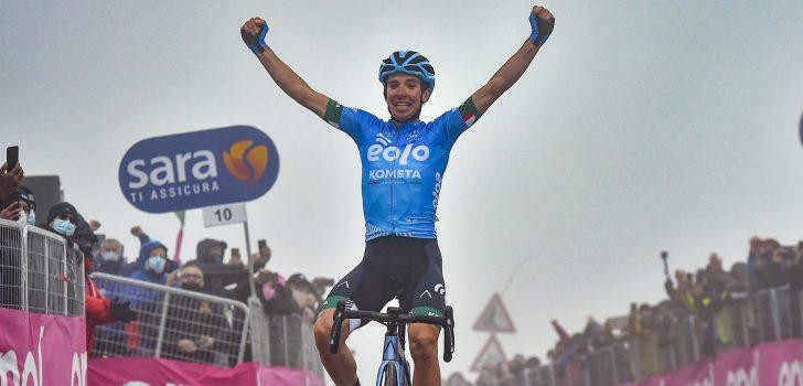 Giro-ritwinnaar Fortunato verlengt bij EOLO-Kometa