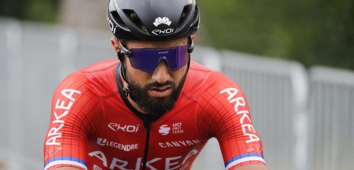 Nacer Bouhanni loopt schouderbreuk op in GP Marcel Kint