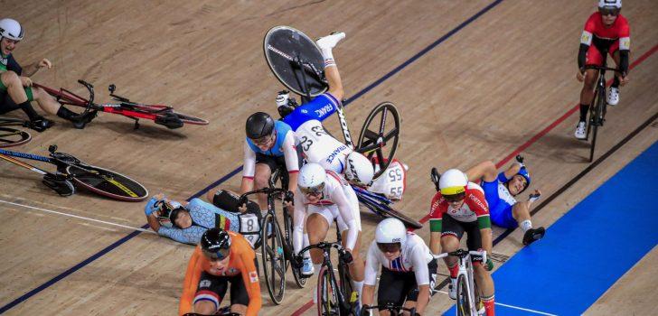 Olympische Spelen: Lotte Kopecky uitgeschakeld in omnium na val