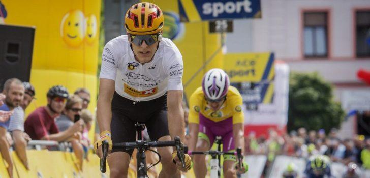 Talentvolle Johannessen wint ook slotrit Sazka Tour, eindzege Filippo Zana