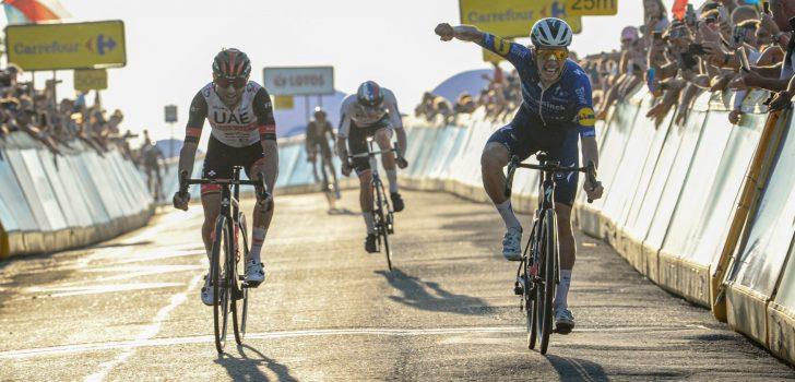 João Almeida verslaat Diego Ulissi op lastige aankomst in Ronde van Polen