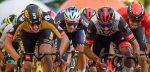 Fernando Gaviria klopt Olav Kooij in Ronde van Polen