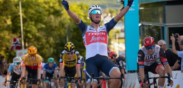 Pedersen wint in Ronde van Noorwegen, Van der Sande zevende