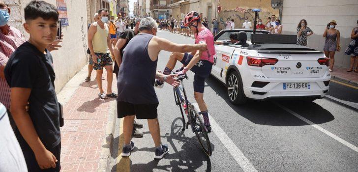 Vuelta 2021: Simon Carr (EF Education-Nippo) geeft op