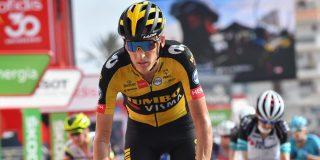 Vuelta 2021: Robert Gesink heeft last van schouderblessure