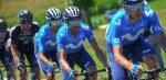 Alejandro Valverde zit een week na zijn valpartij alweer op de fiets