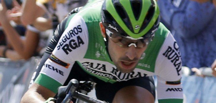 "Jon Aberasturi gediskwalificeerd vanwege verboden houding: ""Bedankt UCI"""