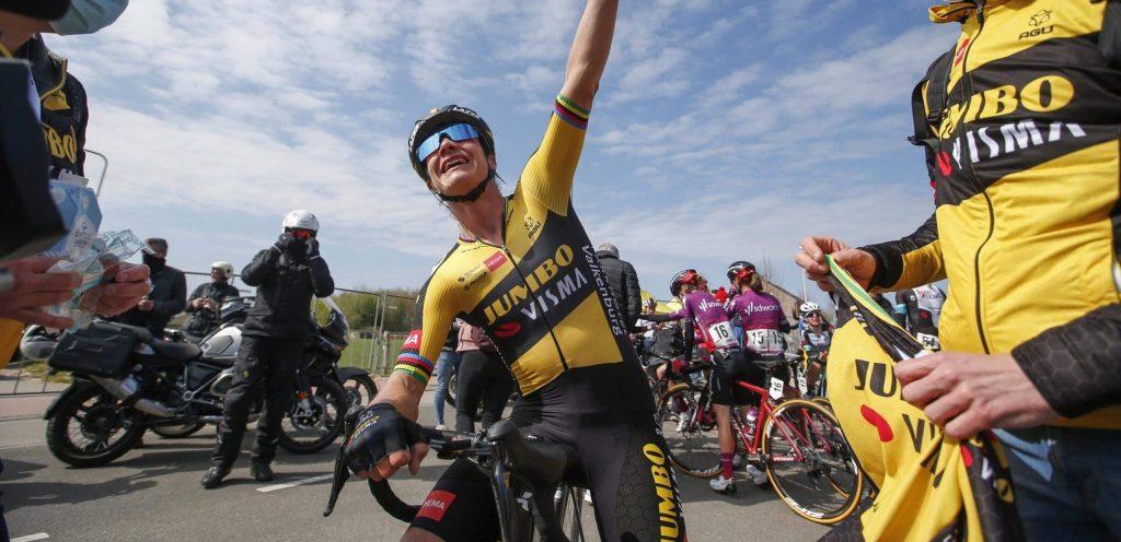 Vos won dit jaar de Amstel Gold Race - foto: Cor Vos