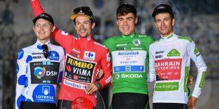 """Gino Mäder: """"Hopelijk is het niet mijn laatste top-5 in een eindklassement"""""""