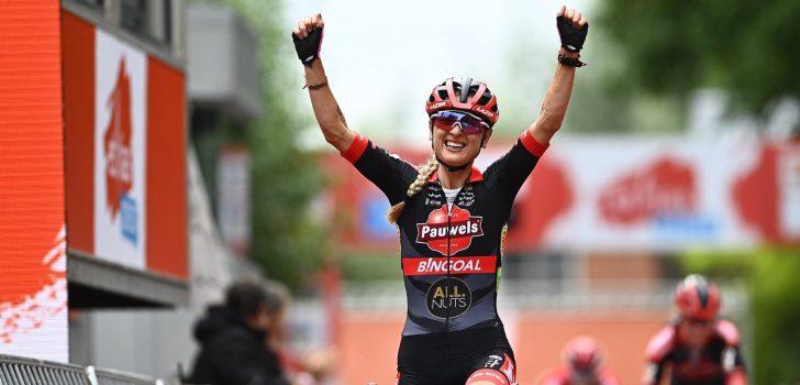 Denise Betsema trapt Belgisch crossseizoen af met winst
