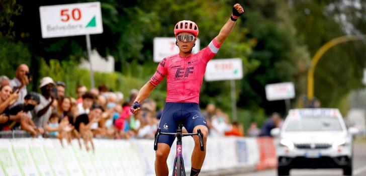 Michael Valgren zet uitroepteken achter WK-vorm met zege in Giro della Toscana