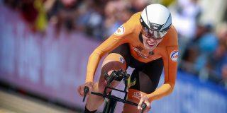 WK 2021: Ellen van Dijk opnieuw wereldkampioen tijdrijden, Van Vleuten derde
