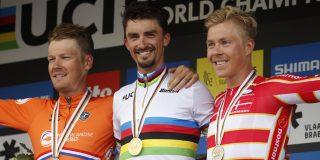 Twee wereldtitels op rij: Alaphilippe in voetsporen Van Looy, Bettini en Sagan