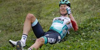 Kelderman loopt gebroken bekken en ribben op na val in Benelux Tour
