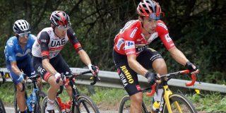 Vuelta 2021: Dit zijn de verschillen tussen de klassementsrenners voor de slottijdrit