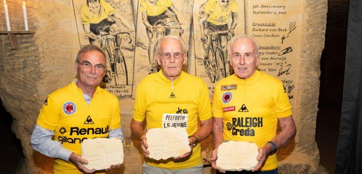 Janssen, Zoetemelk en Hinault met wandtekening vereeuwigd in grotten Valkenburg