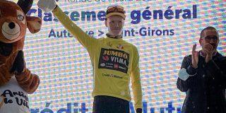 Gijs Leemreize wint Ronde de l'Isard na solo van bijna 50 kilometer
