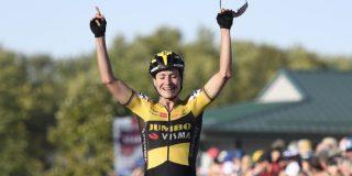 Marianne Vos wint Wereldbeker Iowa na beklijvend duel met Denise Betsema
