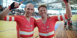 Denemarken prolongeert wereldtitel koppelkoers, brons voor België