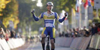 """Rune Herregodts na zege in Ronde van Drenthe: """"Dit was wel een nummerke"""""""