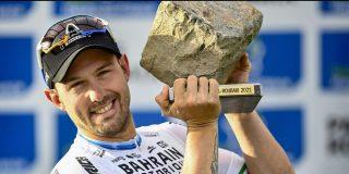 """Opvallende onthulling Colbrelli: """"Ik won de sprint in Roubaix met twee lekke banden"""""""