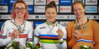 Goud voor Lotte Kopecky op WK puntenkoers
