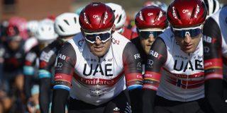 Kristoff en Trentin voeren UAE Emirates aan in Parijs-Roubaix