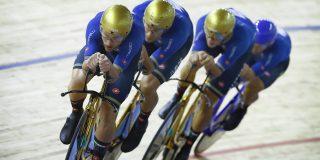 Gouden fietsen van Italiaanse achtervolgingsploeg gestolen: schade een paar honderdduizend euro